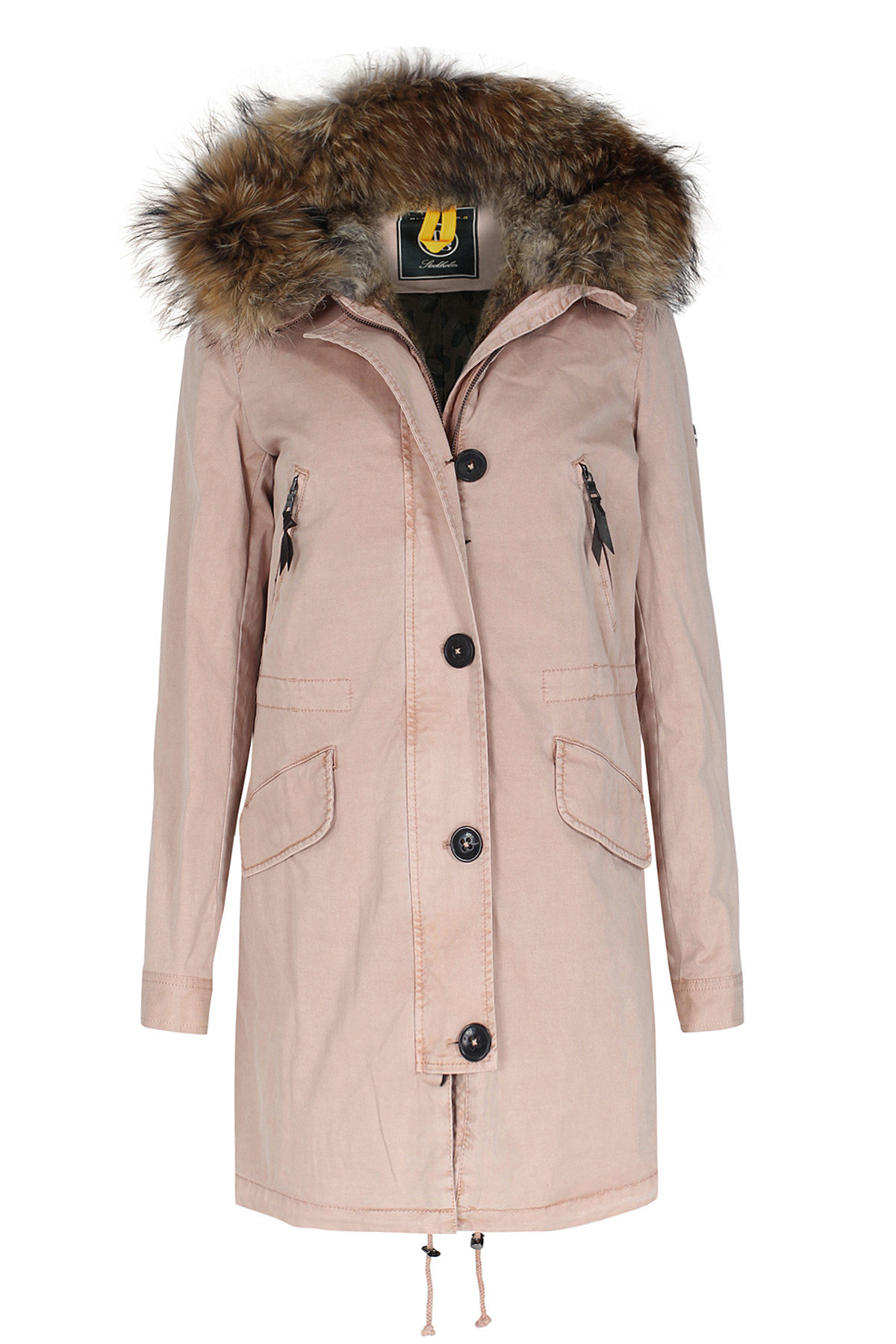 Blonde No. 8 Parka Aspen rose