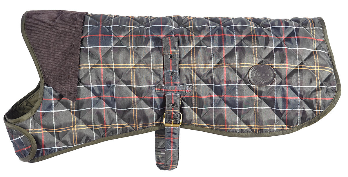 Barbour Tartan Dog Coat - Hundemantel