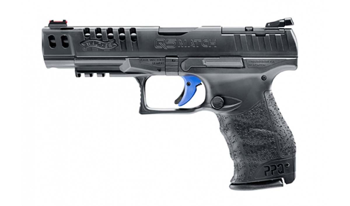 Walther Q5 Match Champion 9mm Para - Pistole