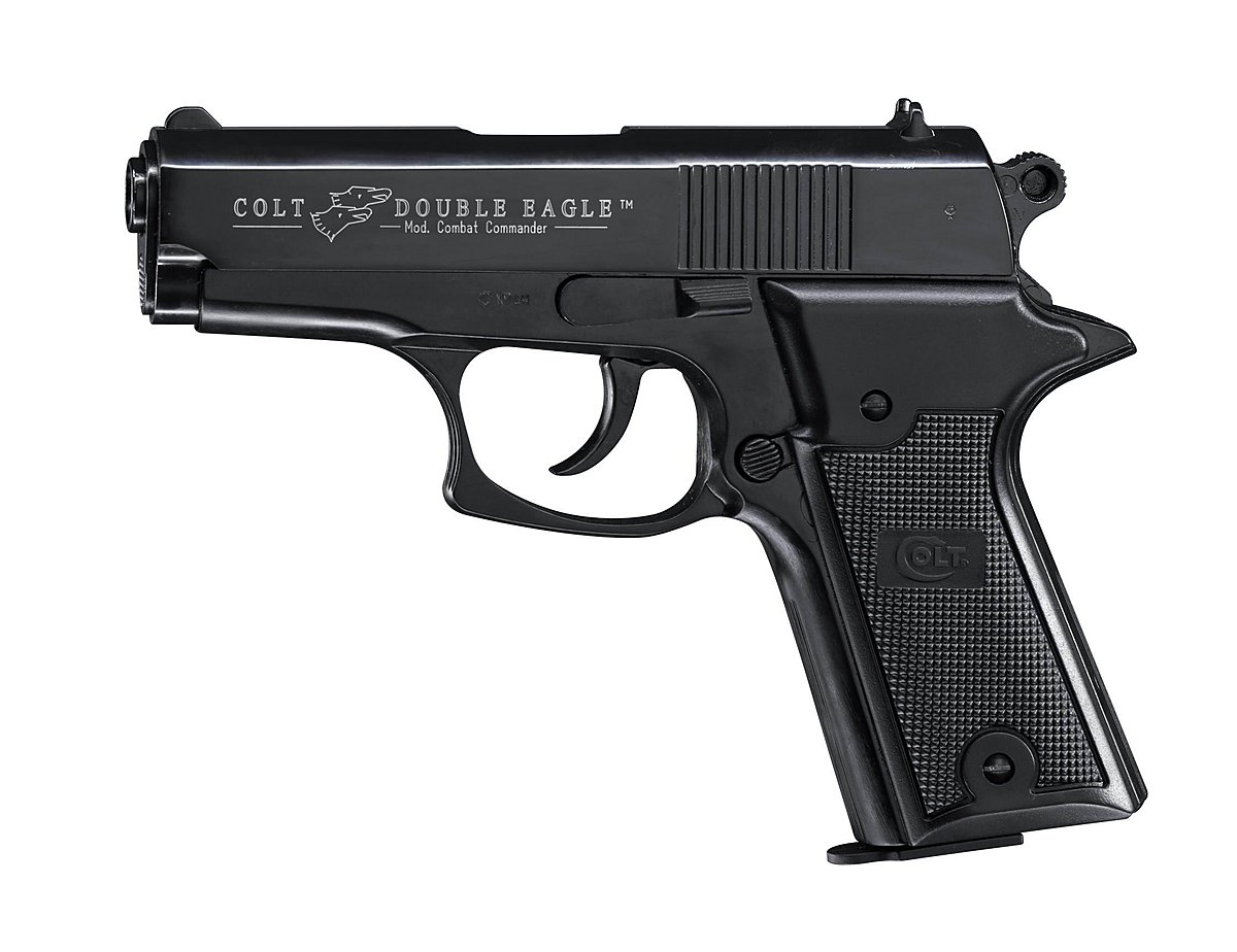 Colt Double Eagle Commander brüniert