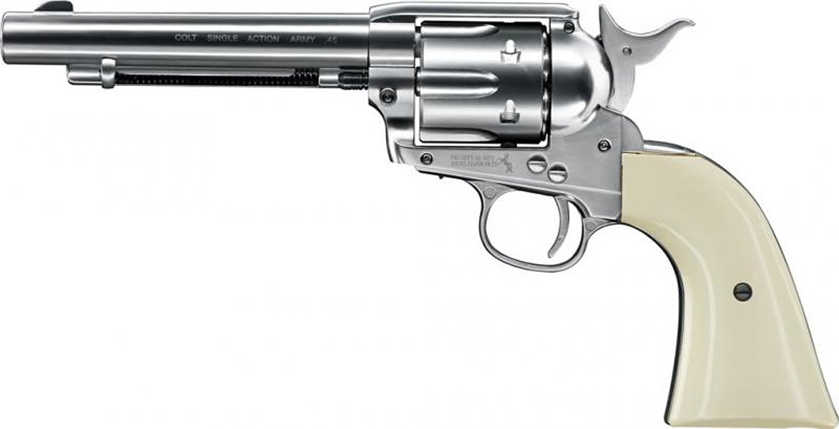 Colt Single Action Army nickel - Co2 Revolver