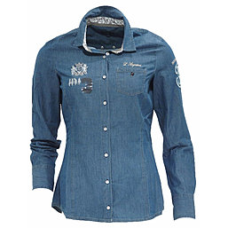 L'Argentina Jeansbluse