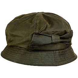 Barbour Bow Bell Hat - gewachster Damenhut