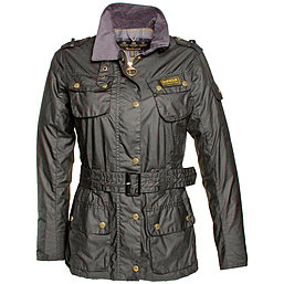 Barbour Flyweight Wax International Jacket - Damenwachsjacke