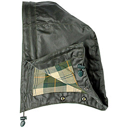 Barbour Waxed Cotton Hood - gewachste Baumwollkapuze