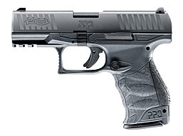 Walther PPQ M2 GBB metal grey - Airsoftpistole
