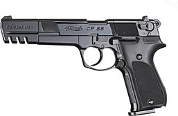 Walther CP88 Competition brüniert - Co2 Pistole